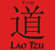 Lao Tzu Buddha Dao Tao Kids Tee