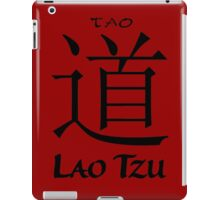 Lao Tzu Buddha Dao Tao iPad Case/Skin