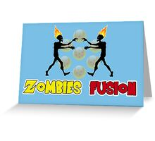 Zombies fusion! - Sayan style Greeting Card