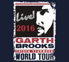 GARTH BROOKS WORLD TOUR 2016 One Piece - Short Sleeve