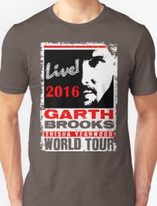 GARTH BROOKS WORLD TOUR 2016 T-Shirt