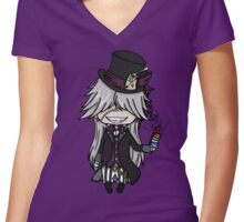 Undertaker Alice Women's Fitted V-Neck T-Shirt