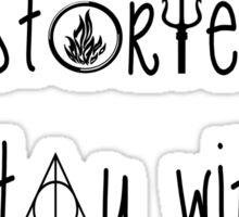 Multifandom symbols Sticker