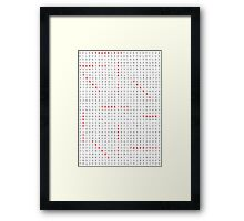 A Thankful Puzzle To Say Thank You So Much Framed Print