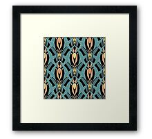Seamless abstract pattern . Framed Print
