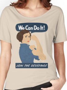 Leia The Riveter Women's Relaxed Fit T-Shirt