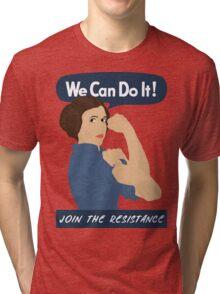 Leia The Riveter Tri-blend T-Shirt