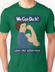 Leia The Riveter Unisex T-Shirt