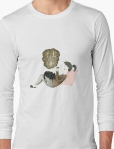 Cats and Coffee Long Sleeve T-Shirt