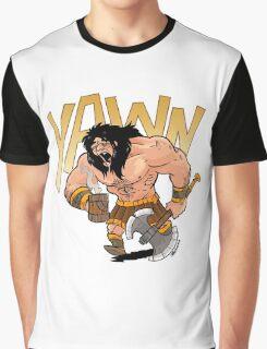 Barbarian wake me up Graphic T-Shirt