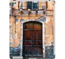 Sicilian Facade of Taormina iPad Case/Skin