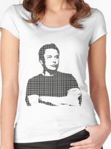 elon musk Women's Fitted Scoop T-Shirt