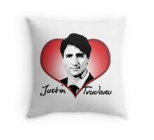 Justin Trudeau Throw Pillow
