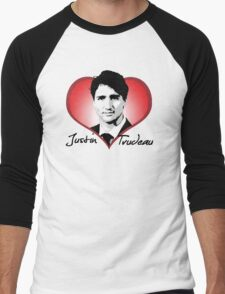 Justin Trudeau Men's Baseball ¾ T-Shirt