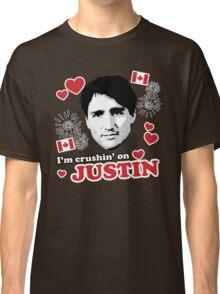 I'm Crushin' on Justin Trudeau Classic T-Shirt