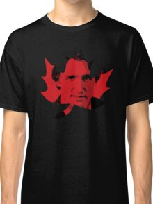 Justin Trudeau Maple Leaf Classic T-Shirt