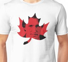 Justin Trudeau Maple Leaf Unisex T-Shirt