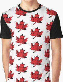 Justin Trudeau Maple Leaf Graphic T-Shirt