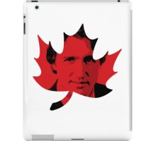 Justin Trudeau Maple Leaf iPad Case/Skin