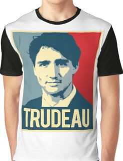 Trudeau Poster Art Graphic T-Shirt