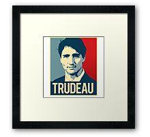 Trudeau Poster Art Framed Print