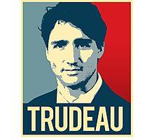 Trudeau Poster Art Photographic Print