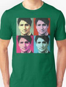 Justin Trudeau Pop Art Unisex T-Shirt