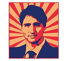 Justin Trudeau Propaganda Art Photographic Print