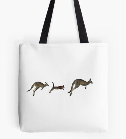 Three kangaroos? Tote Bag