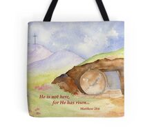 Easter Joy - Matthew 28:6 Tote Bag