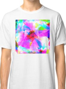 Abstract Pinks  Classic T-Shirt