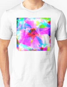 Abstract Pinks  Unisex T-Shirt