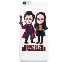 DoctorWho2012 Merchandise, Little Red & Meg iPhone Case/Skin