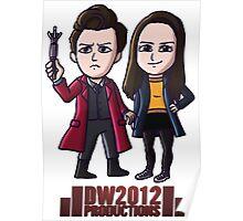 DoctorWho2012 Merchandise, Little Red & Meg Poster