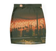 cocktails. Mini Skirt