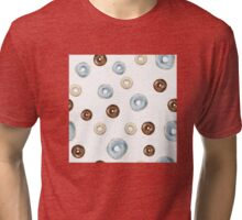 frosted donuts Tri-blend T-Shirt