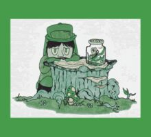 Color Kids - Green One Piece - Short Sleeve