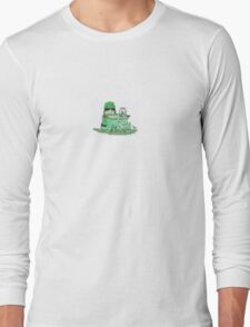 Color Kids - Green Long Sleeve T-Shirt