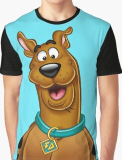 Natural Scooby doo  Graphic T-Shirt