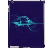 Spherical Horizon (in turquoise) Fractal iPad Case/Skin
