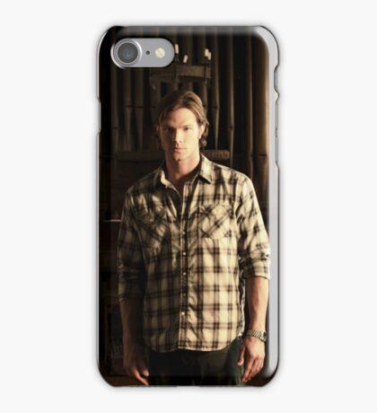 Sam Winchester Season 4 iPhone Case/Skin