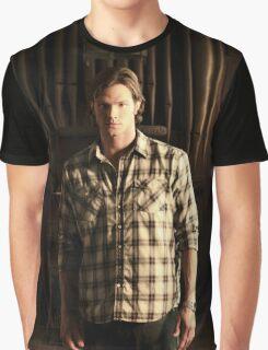 Sam Winchester Season 4 Graphic T-Shirt