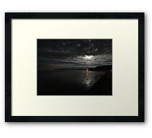The Bay at Benllech Framed Print