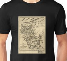American Revolutionary War Era Maps 1750-1786 138 A new and accurate chart of the harbour of Boston in New England in North America Unisex T-Shirt