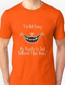Cheshire cat's quote Unisex T-Shirt