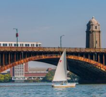Summer on the Charles River Sticker