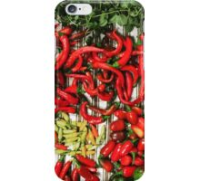 So many chiles... iPhone Case/Skin