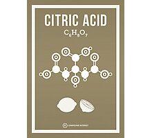 Citric Acid Photographic Print