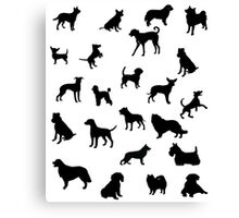 Dogs!! Canvas Print