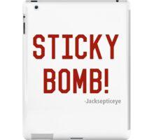 STICKY BOMB iPad Case/Skin